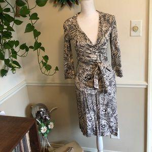 Sz 8 Dianne Von Furstenberg Wrap Dress